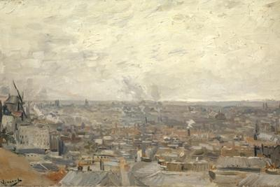 View from Montmartre, 1886 by Vincent van Gogh