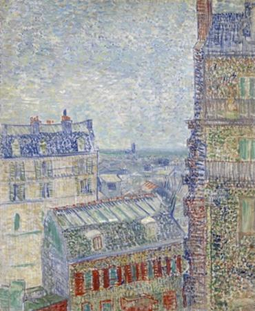 View from Theo's Apartment by Vincent van Gogh