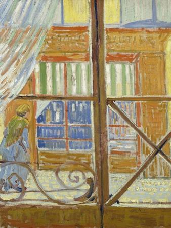 View of a Butcher's Shop by Vincent van Gogh