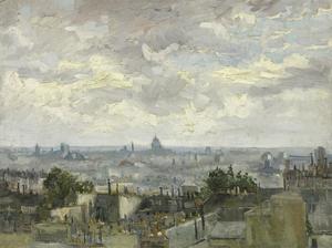 View of Paris, 1886 by Vincent van Gogh