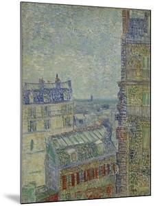 View of Paris from Theo's apartment in the rue Lepic, 1887 by Vincent Van Gogh by Vincent Van Gogh