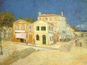 Vincent's House at Arles, 1888 by Vincent van Gogh