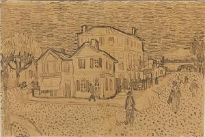 Vincent's House at Arles, from a Letter to His Brother Theo, Executed in Arles, 1888 by Vincent van Gogh