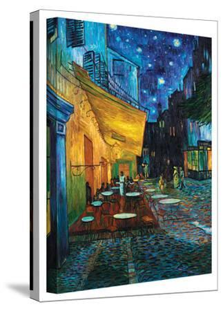 Vincent van Gogh 'Cafe Terrace at Night' Wrapped Canvas by Vincent van Gogh