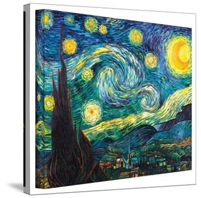 Vincent van Gogh 'Starry Night' Wrapped Canvas by Vincent van Gogh