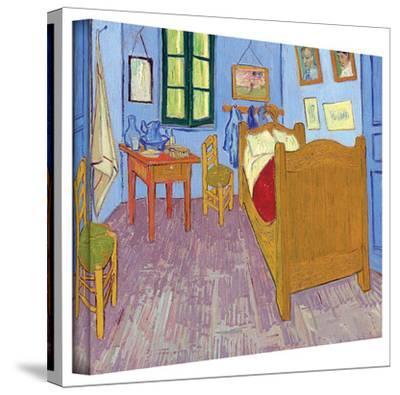 Vincent van Gogh 'The Bedroom' Wrapped Canvas Art by Vincent van Gogh