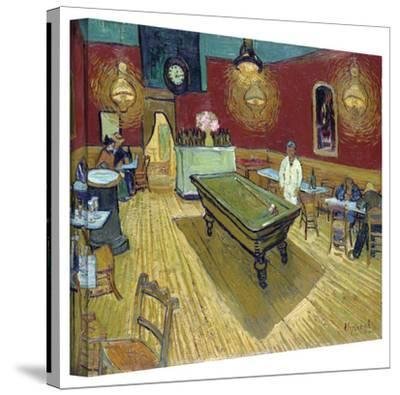 Vincent van Gogh 'The Night Cafe in the Place Lamartine in Arles' Wrapped Canvas