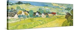 Vue Ensoleille pres d'Auvers by Vincent van Gogh