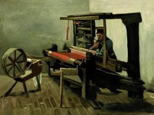 Weaver, 1884 by Vincent van Gogh