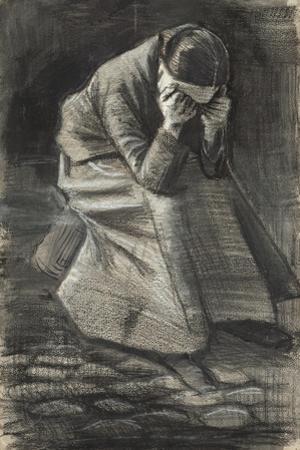 Weeping Woman, 1883 by Vincent van Gogh