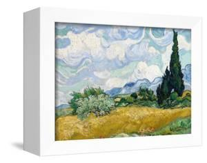 Wheat Field with Cypresses by Vincent van Gogh