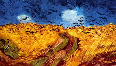 Wheatfield with Crows, c.1890