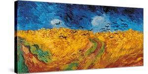 Wheatfield with Crows, c.1890 by Vincent van Gogh