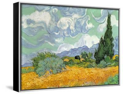 Wheatfield with Cypresses, 1889
