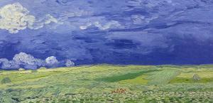 Wheatfields under Thunderclouds, 1890 by Vincent van Gogh