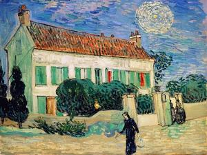 White House at Night, 1890 by Vincent van Gogh
