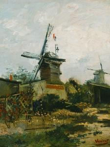 Windmills on Montmartre by Vincent van Gogh