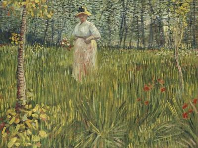 Woman in a Garden, 1887