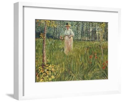 Woman in a Garden (Femme Dans Un Jardin), 1887