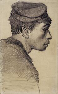 Young Peasant by Vincent van Gogh