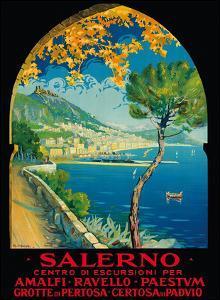 Salerno, Italy - Amalfi, Ravello, Paestum, Grotte de Pertosa (Pertosa Caves), Certosa di Padvio by Vincenzo Alicandri