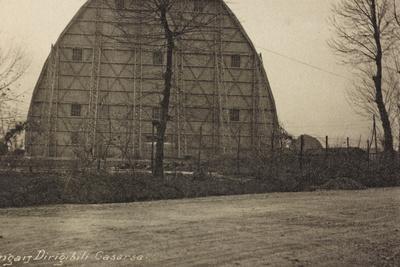 Visions of War 1915-1918: An Airship Hangar in Casarsa