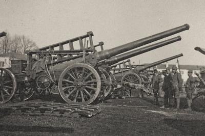 Visions of War 1915-1918: Guns
