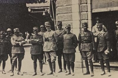 Visions of War 1915-1918: Italian Group of Officers