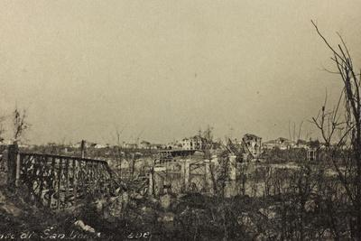 Visions of War 1915-1918: Rubble of a Bombed Country