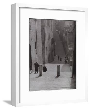 Ancient Street, Siena