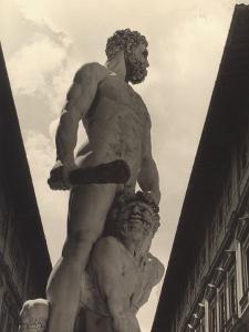 Hercules and Cacus, Statue by Baccio Bandinelli, Conserved in the Piazza Della Signoria in Florence by Vincenzo Balocchi