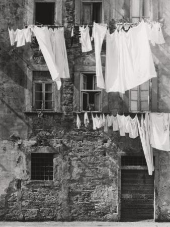 Laundry Hanging Out by Vincenzo Balocchi