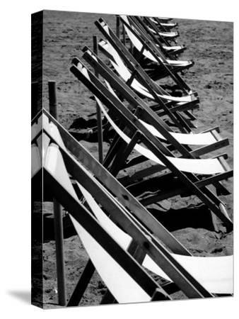 Lawn Chairs on a Beach