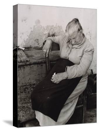 Old Woman Sleeping