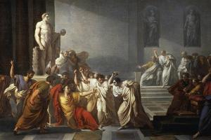 The Death of Julius Caesar, 1805-1806 by Vincenzo Camuccini