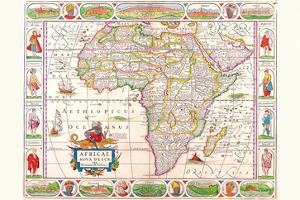Africa by Vincenzo Coronelli