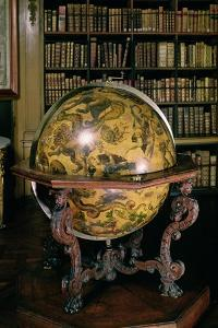 Celestial Globe with the Coat of Arms of Nicolas Fouquet by Vincenzo Coronelli