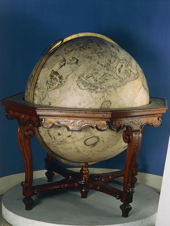 Earth Globe, 1688