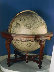 Earth Globe, 1688 by Vincenzo Coronelli