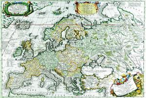 Europe by Vincenzo Coronelli