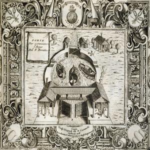Locks Supporting Brenta, 1697 by Vincenzo Coronelli