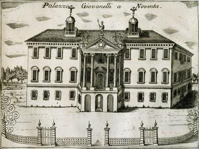 Villa Giovanelli in Noventa, 1697