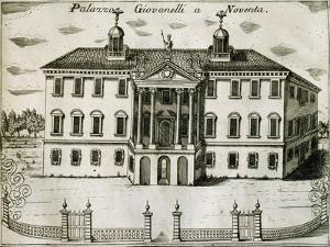 Villa Giovanelli in Noventa, 1697 by Vincenzo Coronelli