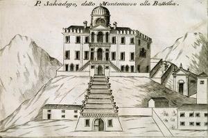 Villa Selvatico in Battaglia Terme, 1697 by Vincenzo Coronelli