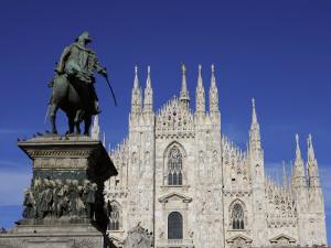 Duomo, Milan, Lombardy, Italy, Europe by Vincenzo Lombardo