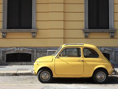 Old Car, Fiat 500, Italy, Europe