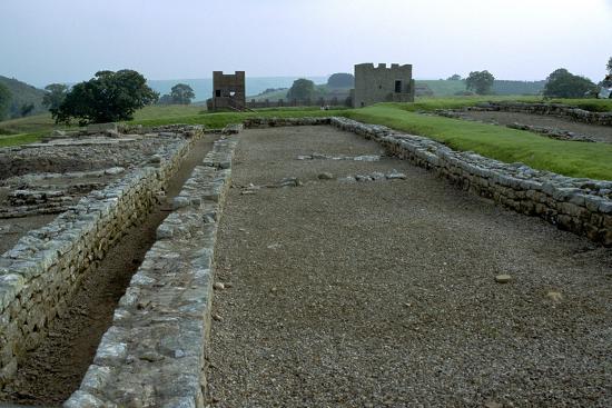 Vindolanda, a Roman military settlement, 3rd century. Artist: Unknown-Unknown-Photographic Print