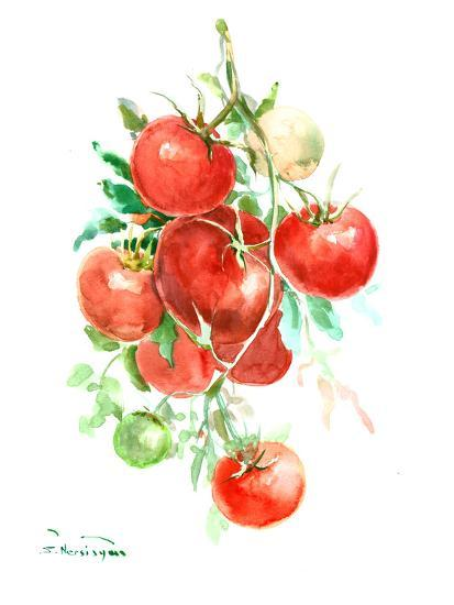 Vine Tomatoes-Suren Nersisyan-Art Print