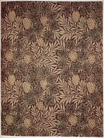 Vine Wallpaper Design, 1873-William Morris-Giclee Print