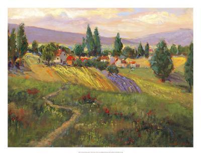 Vineyard Tapestry III-Nanette Oleson-Giclee Print